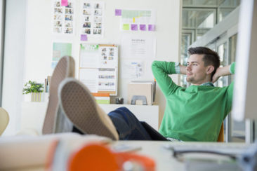 Related content, title: How to Stay Positive and Productive at Work During Uncertain Times